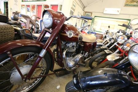 Bikes on Display at Mathewson's