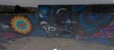 Cheddar Skate Park gets a Graffiti Makeover