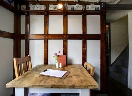 Food is at the heart of The White Horse