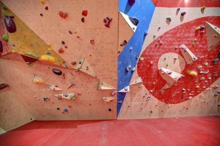 Walls to suit all climbing abilities