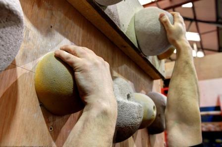 Learn new climbing skills at Boulders