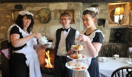 Back in Time to Victorian Tea Rooms