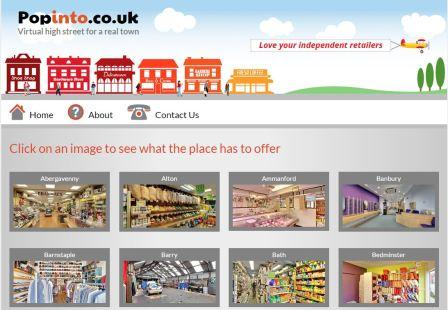 Popinto.co.uk brings our High Streets and the Internet Together
